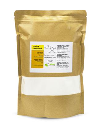 Obrázok pre výrobcu Vitamín C (kyselina L-askorbová) prášok 1000 g
