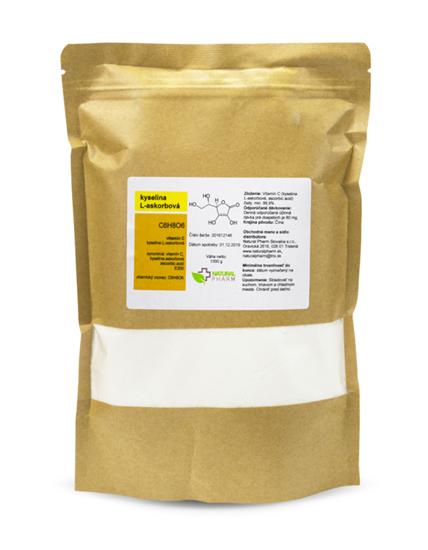 Obrázok Vitamín C (kyselina L-askorbová) prášok 1000 g