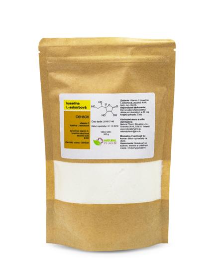 Obrázok Vitamín C (kyselina L-askorbová) prášok 500 g