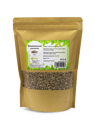 Obrázok pre výrobcu Slnečnicové semienka 500 g