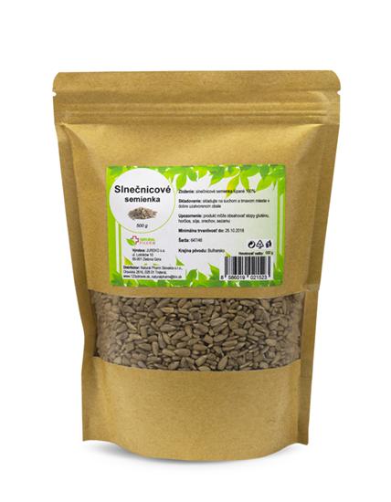 Obrázok Slnečnicové semienka 500 g