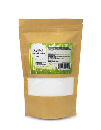 Obrázok Xylitol brezový cukor 500 g