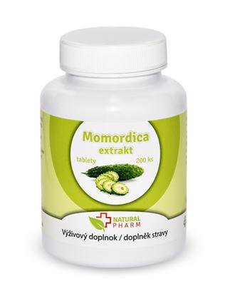 Obrázok pre výrobcu Momordica extrakt tablety 200 ks Expirácia 09/2018