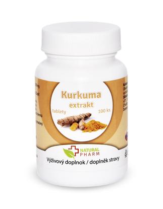 Obrázok pre výrobcu Kurkuma extrakt tablety 100 ks  Expirácia 10/2018