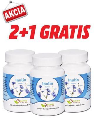 Obrázok pre výrobcu AKCIA 2+1: Inulín tablety 100 ks