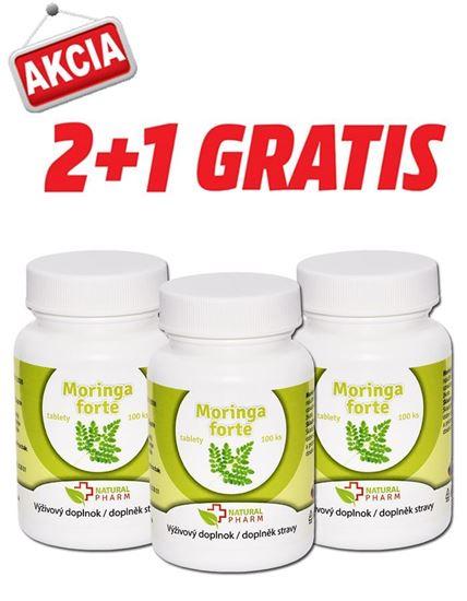 Obrázok AKCIA 2+1: Moringa forte tablety 100 ks