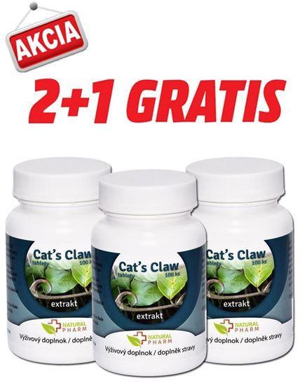 Obrázok AKCIA 2+1: Cat´s Claw /Mačací pazúr/ tablety 100 ks