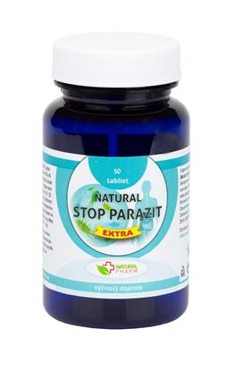 Obrázok pre výrobcu Natural STOP PARAZIT EXTRA tablety 50 ks    NOVINKA!!