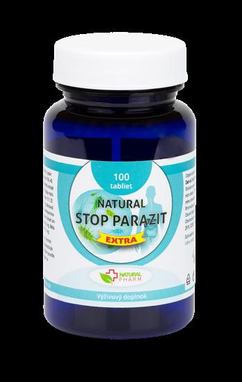 Obrázok Natural STOP PARAZIT EXTRA tablety 100 ks    NOVINKA!!
