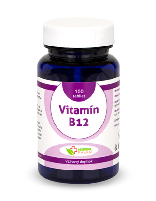 Obrázok pre výrobcu Vitamín B12 tablety 100 ks NOVINKA!