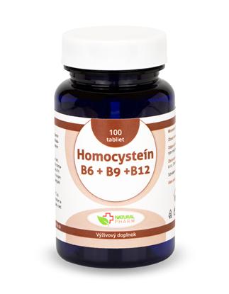 Obrázok pre výrobcu Homocysteín (B6 + B9 + B12) tablety 100ks  NOVINKA!