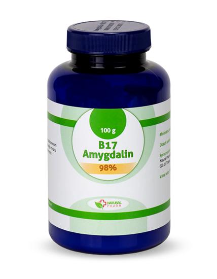 Obrázok Amygdalin B17 prášok 98%  100 g
