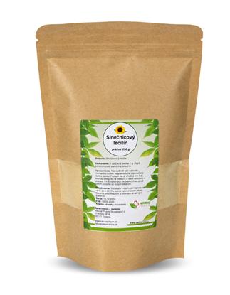 Obrázok pre výrobcu Lecitín Slnečnicový prášok 250 g