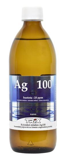 Obrázok Koloidné striebro Ag100 500 ml 25 ppm