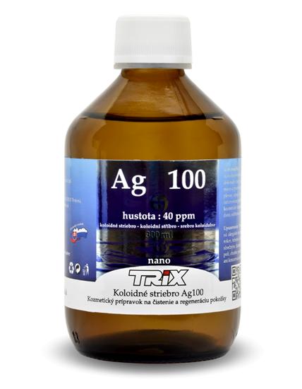 Obrázok Koloidné striebro Ag100 300 ml 40 ppm