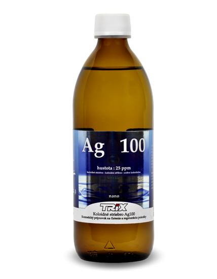 Obrázok Koloidné striebro Ag100 500 ml 40 ppm