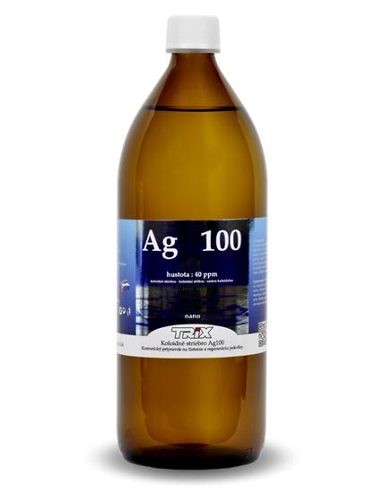 Obrázok Koloidné striebro Ag100 1000 ml 40 ppm