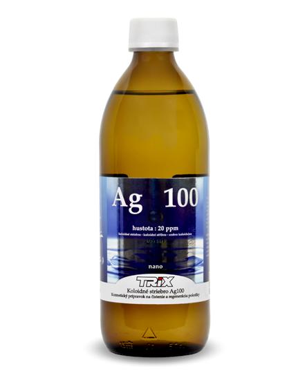Obrázok Koloidné striebro Ag100 500 ml 20 ppm