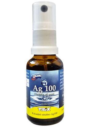 Obrázok pre výrobcu Koloidné striebro Ag100  25 ml 40 ppm sprej