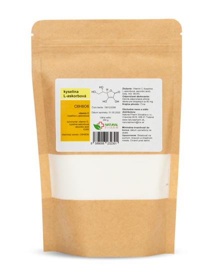 Obrázok Vitamín C (kyselina L-askorbová) prášok 350 g