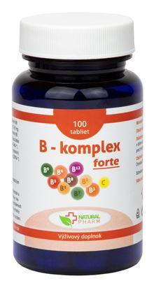 Obrázok pre výrobcu B - komplex forte tablety 100 ks