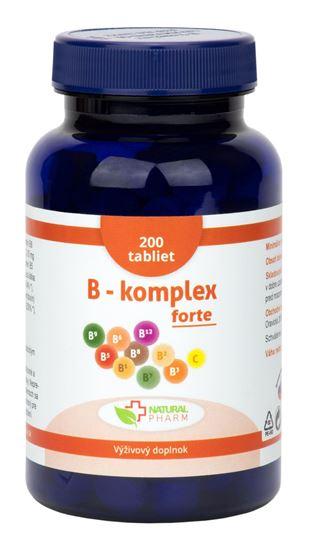 Obrázok B - komplex forte tablety 200 ks