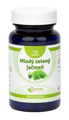Obrázok pre výrobcu Mladý zelený jačmeň tablety 100 ks