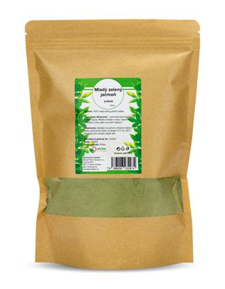 Obrázok pre výrobcu Mladý zelený jačmeň prášok 500 g