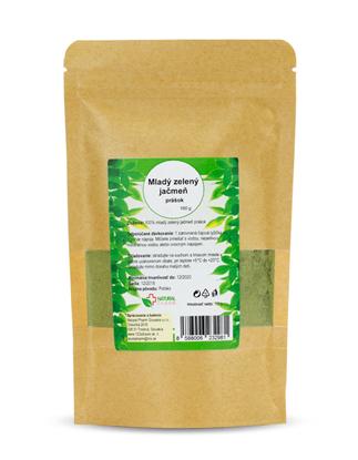 Obrázok pre výrobcu Mladý zelený jačmeň prášok 100 g