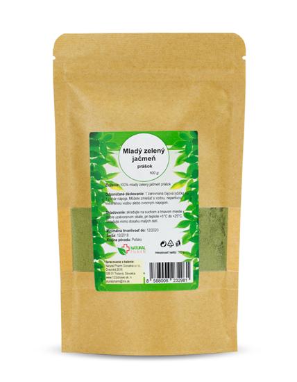 Obrázok Mladý zelený jačmeň prášok 100 g