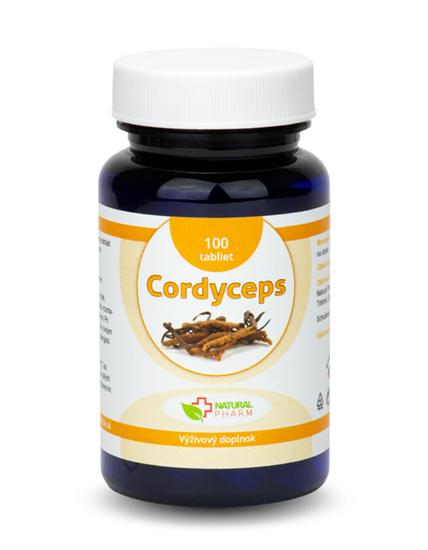 Obrázok Cordyceps tablety 100 ks