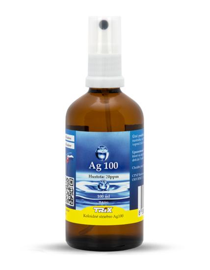 Obrázok Koloidné striebro Ag100 100 ml 20 ppm sprej