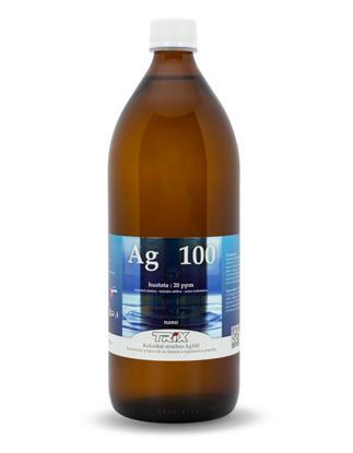 Obrázok pre výrobcu Koloidné striebro Ag100 1000 ml 20 ppm