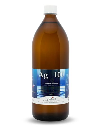 Obrázok Koloidné striebro Ag100 1000 ml 25 ppm