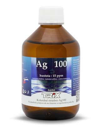 Obrázok pre výrobcu Koloidné striebro Ag100 300 ml 15 ppm
