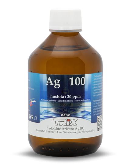 Obrázok Koloidné striebro Ag100 300 ml 20 ppm