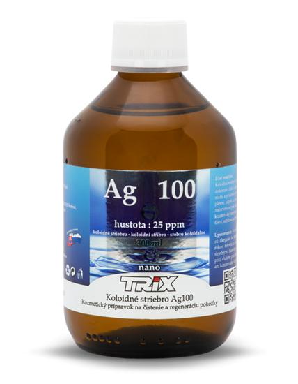 Obrázok Koloidné striebro Ag100 300 ml 25 ppm