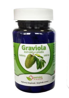 Obrázok pre výrobcu Graviola (Annona Muricata) tablety 100 ks