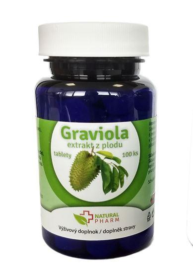 Obrázok Graviola (Annona Muricata) tablety 100 ks