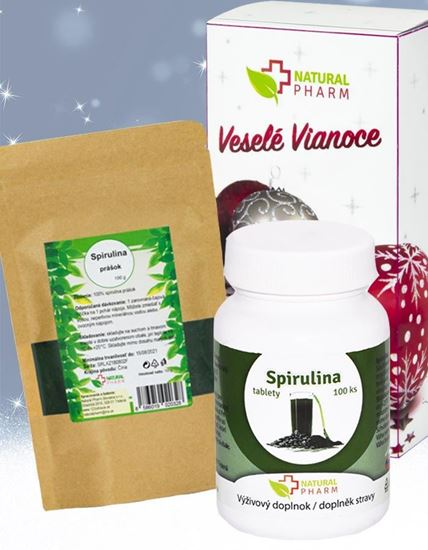 Obrázok Detoxikačný balíček - Spirulina