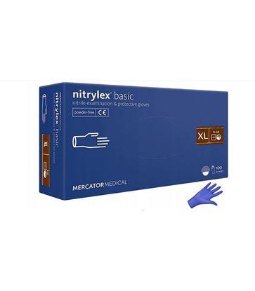 Obrázok pre výrobcu Nitrilové rukavice 100ks veľkosť XL