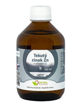 Obrázok pre výrobcu Tekutý Zinok Zn + Vitamín C 300 ml