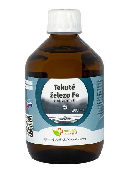 Obrázok Tekuté Železo Fe + Vitamín C 300 ml