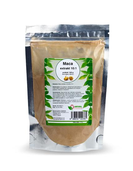Obrázok Maca extrakt 10:1  100 g (maca peruánska)  AKCIA!
