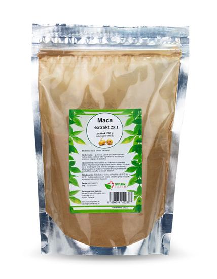 Obrázok Maca extrakt 25:1  250 g (maca peruánska)