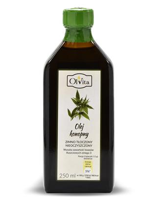 Obrázok pre výrobcu Konopný olej 250 ml  Expirácia 01.10.2021
