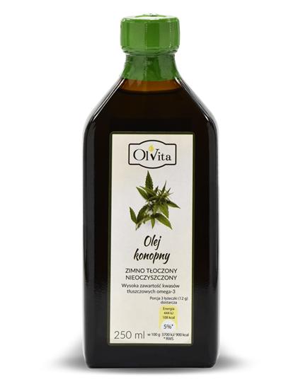 Obrázok Konopný olej 250 ml  Expirácia 01.10.2021