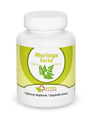 Obrázok pre výrobcu Moringa forte tablety 200 ks Expirácia 11.2021