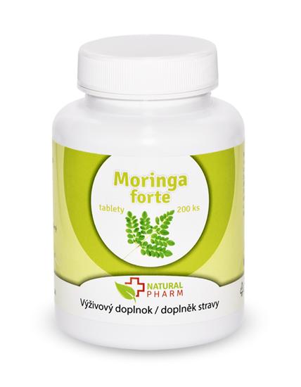 Obrázok Moringa forte tablety 200 ks Expirácia 11.2021