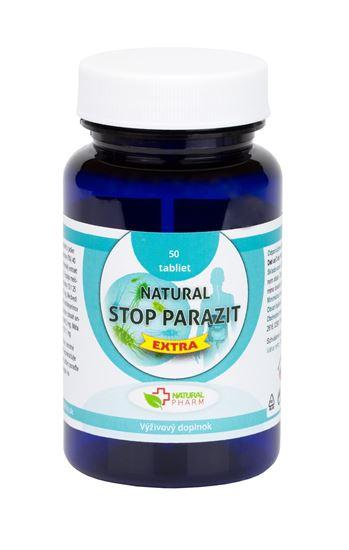Obrázok Natural STOP PARAZIT EXTRA tablety 50 ks    Exp. 10.2021